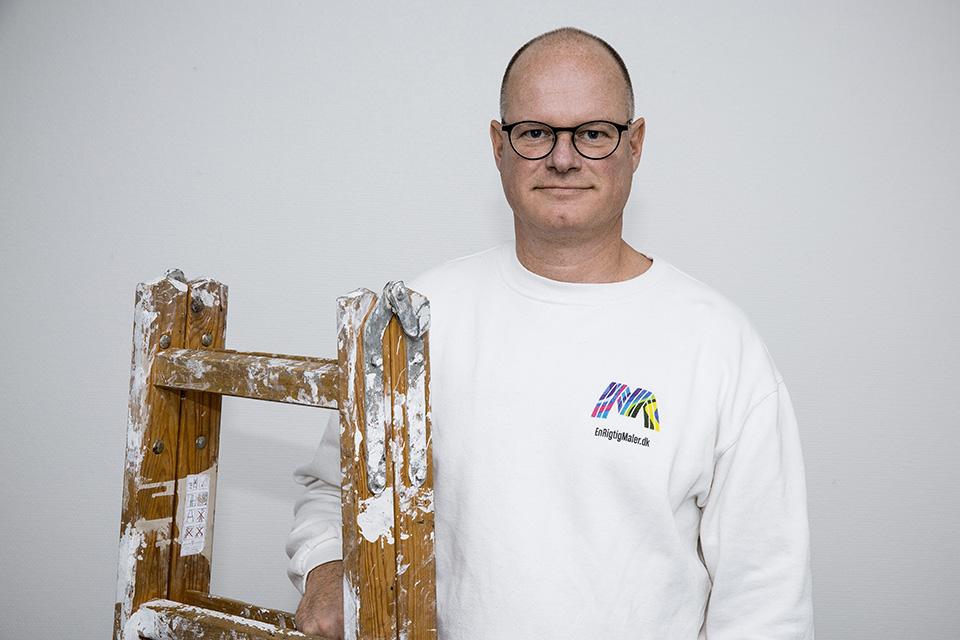 Malermester i egen virksomhed siden 1991